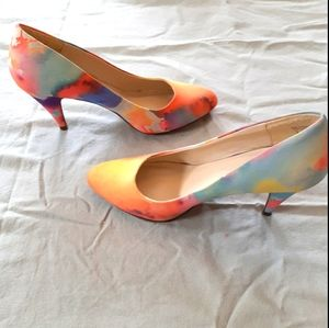 Call it spring size 8 watercolor heels